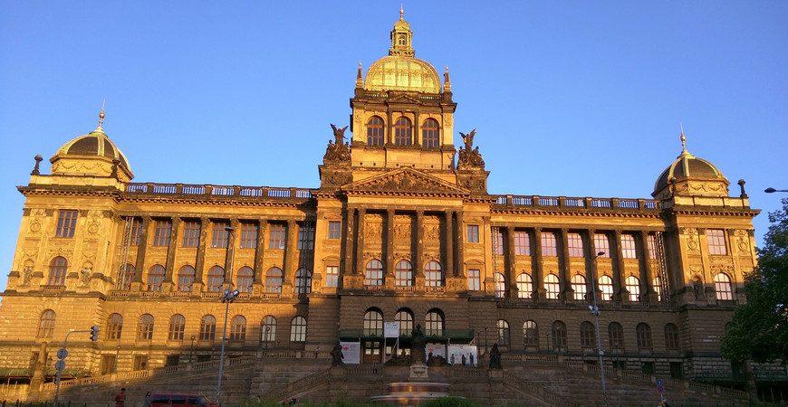 Открытие Национального музея в Праге!